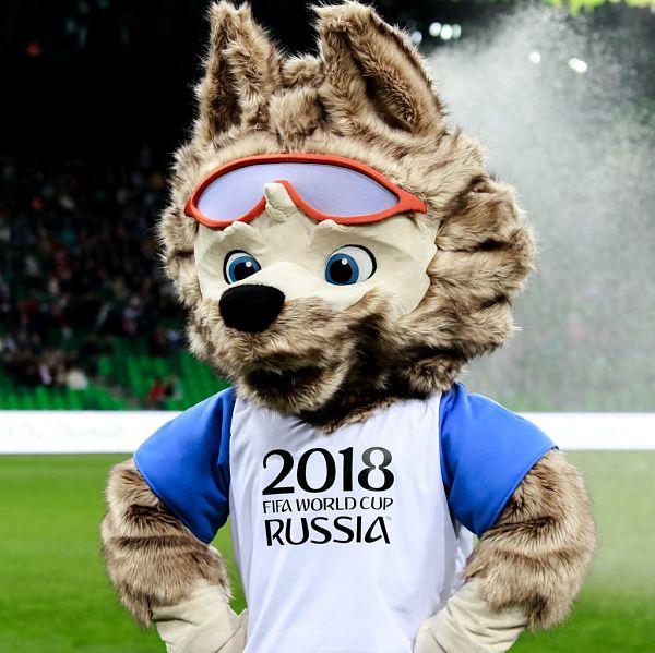 Ετοιμαστείτε για το Παγκόσμιο Κύπελλο Ποδοσφαίρου μασκότ