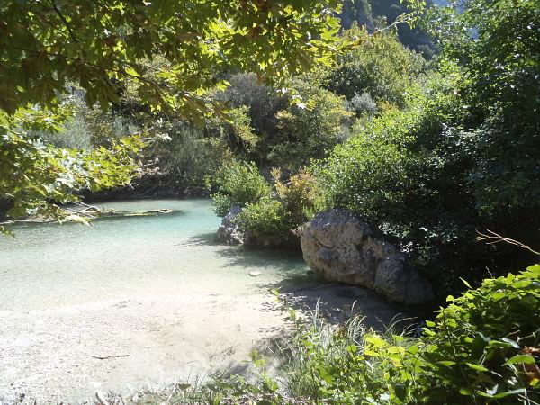 Αχέροντας, ο επιβλητικός ποταμός των ψυχών φύση