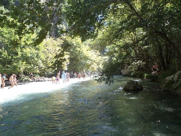 Αχέροντας, ο επιβλητικός ποταμός των ψυχών τουρίστες