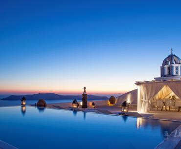 Δέκα μαγευτικά ξενοδοχεία στην Ελλάδα Σαντορίνη