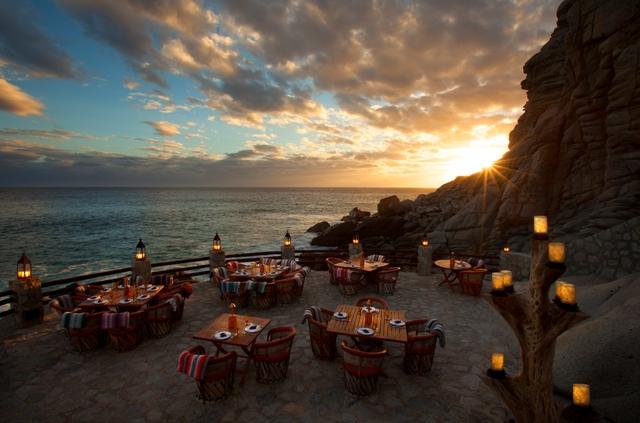 El Farallon: Ένα εστιατόριο στο Μεξικό σμιλεμένο στους βράχους θέα