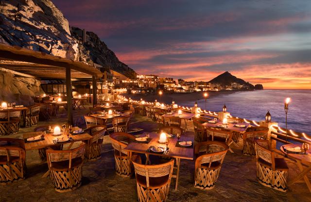 El Farallon: Ένα εστιατόριο στο Μεξικό σμιλεμένο στους βράχους