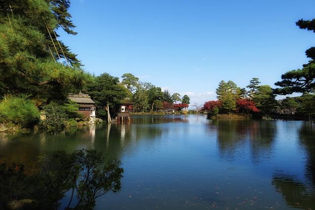 Οι μαγευτικοί κήποι της Ιαπωνίας νερό