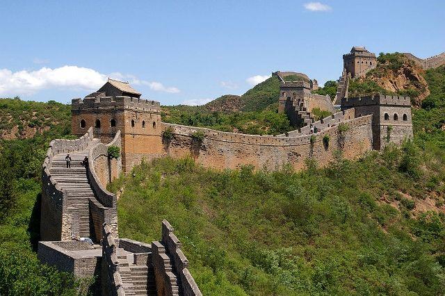 Σινικό Τείχος της Κίνας, το μεγαλύτερο οικοδόμημα στον πλανήτη