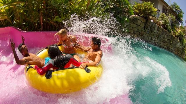 Waterbom waterpark στο εξωτικό Μπαλί
