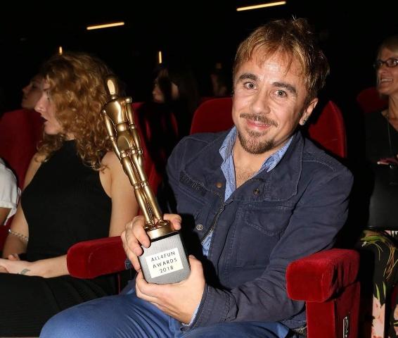 Ο βραβευμένος ηθοποιός Θανάσης Τσαλταμπάσης