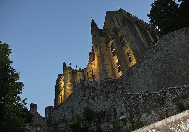 Το μεσαιωνικό νησί της Γαλλίας Μον Σαιν Μισέλ