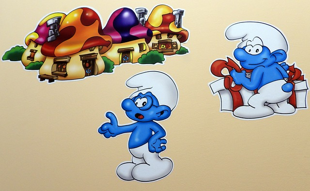 Στρουμφάκια, τα αγαπημένα μας μικρά γαλάζια πλάσματα