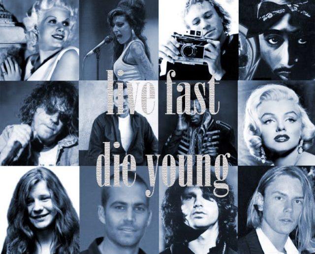 Η προέλευση της φράσης Live Fast Die Young