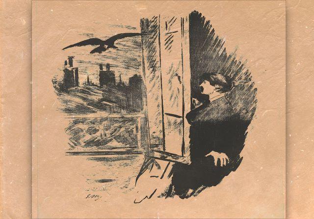 Το Κοράκι, του Έντγκαρ Άλλαν Πόε - Το διασημότερο ποίημα